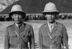 Drongdak commanders Tashi Dhondup Yuthok & Jigme Taring