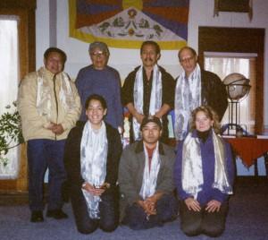 1st Rangzen Alliance Planning Meeting: Lhakpa Tsering, Thupten Norbu, Jamyang Norbu, Elliot Sperling, Lhadon Tethong, Thupten Tsering, Lisa Keary.