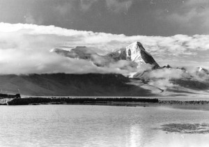 Jhomolhari and Rham-chu Lake