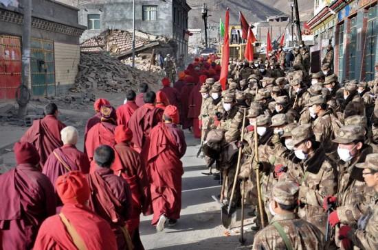 Jyekundo rescue monks