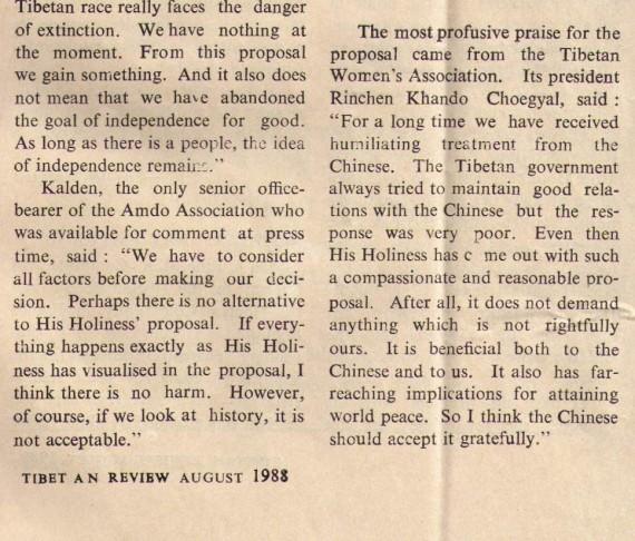 Tibetan Review August 88