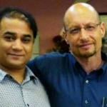 Ilham with Elliot Sperling